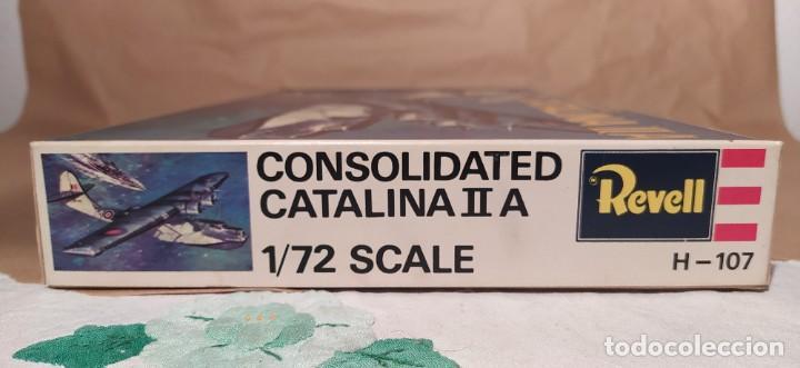 Maquetas: Consolidated Catalina II A Revell H-107 escala 1/72. Año 1972. Nuevo, bolsa precintada - Foto 3 - 225054031