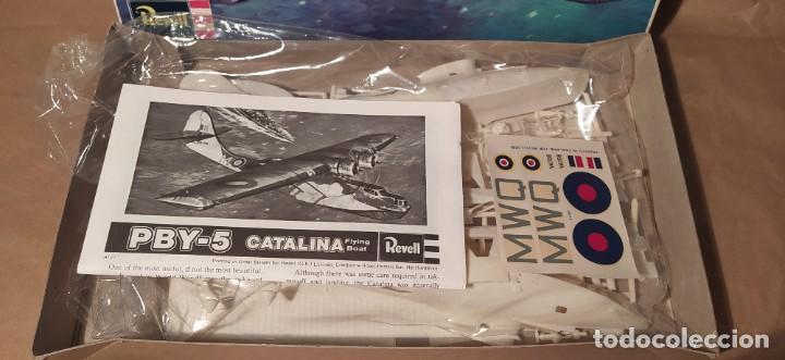 Maquetas: Consolidated Catalina II A Revell H-107 escala 1/72. Año 1972. Nuevo, bolsa precintada - Foto 4 - 225054031