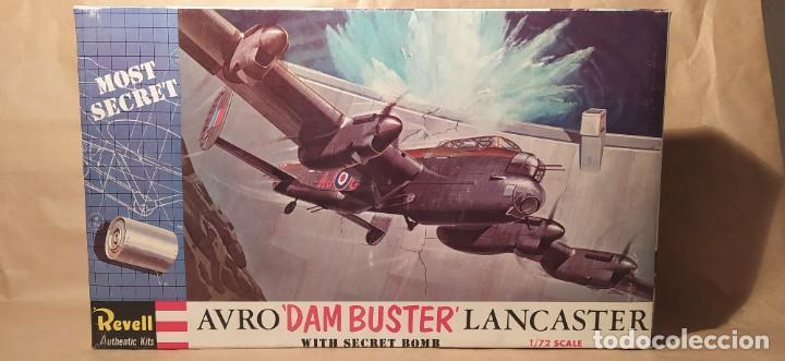 AVRO DAMBUSTER LANCASTER REVELL H-202 ESCALA 1/72. AÑO 1972. NUEVO, BOLSA SIN ABRIR (Juguetes - Modelismo y Radio Control - Maquetas - Aviones y Helicópteros)