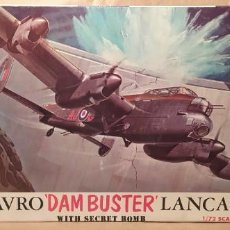 Maquetas: AVRO DAMBUSTER LANCASTER REVELL H-202 ESCALA 1/72. AÑO 1972. NUEVO, BOLSA SIN ABRIR. Lote 225055965