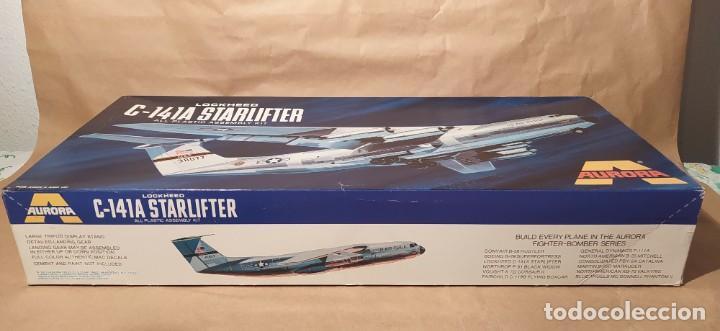 Maquetas: Lockheed C-141a starfighter Aurora 376-250 escala 1/108. Año 1972. Nuevo - Foto 2 - 225059798