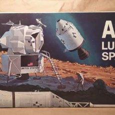 Maquettes: APOLLO LUNAR SPACECRAFT REVELL 1838:600 ESCALA 1/48.AÑO 1967. NUEVO, BOLSAS SIN ABRIR. Lote 225066780