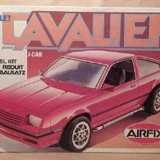 Maquetas: CHEVROLET CAVALIER J-CAR AIRFIX 1/25 . NUEVO, BOLSA SIN ABRIR. Lote 225075175