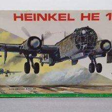 Maquetas: HEINKEL HE 177 MPC ESCALA 1/72. NUEVO, BOLSA SIN ABRIR. Lote 225116015