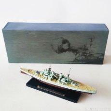 Maquetas: HMS PRINCE OF WALES- ESCALA 1/1.250 - ** PLANETA DE AGOSTINI - EDITIONS ATLAS NUEVO BUQUE DE GUERRA. Lote 225118220
