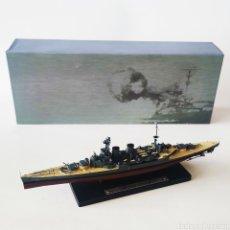 Maquetas: HMS HOOD- ESCALA 1/1.250 - ** PLANETA DE AGOSTINI - EDITIONS ATLAS ** - NUEVO - BUQUE DE GUERRA. Lote 225118676