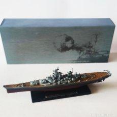 Maquetas: USS MISSOURI - ESCALA 1/1.250 - ** PLANETA DE AGOSTINI - EDITIONS ATLAS ** - NUEVO - BUQUE DE GUERRA. Lote 225119270