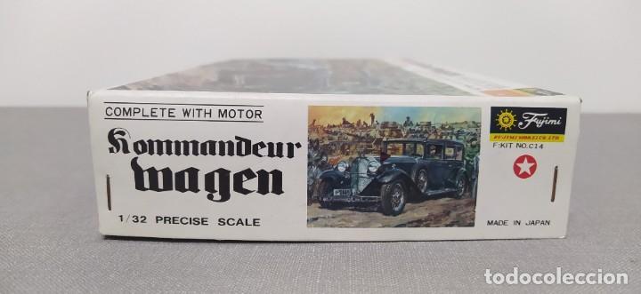Maquetas: Kommandeurwagen motorizado 1/32 de Fujimi. Coche Gestapo. Nuevo sin abrir - Foto 2 - 225134130