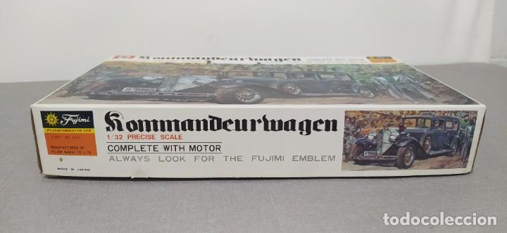 Maquetas: Kommandeurwagen motorizado 1/32 de Fujimi. Coche Gestapo. Nuevo sin abrir - Foto 4 - 225134130