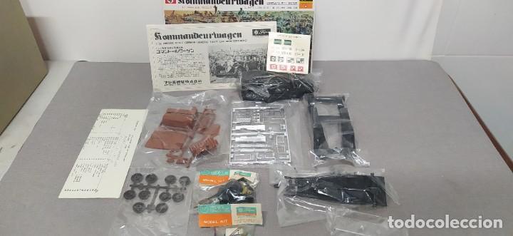Maquetas: Kommandeurwagen motorizado 1/32 de Fujimi. Coche Gestapo. Nuevo sin abrir - Foto 5 - 225134130