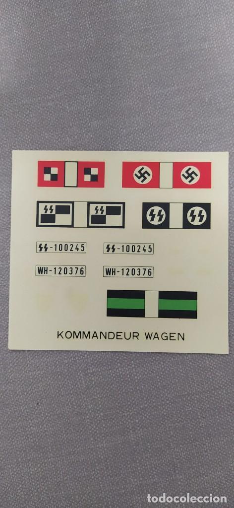 Maquetas: Kommandeurwagen motorizado 1/32 de Fujimi. Coche Gestapo. Nuevo sin abrir - Foto 6 - 225134130