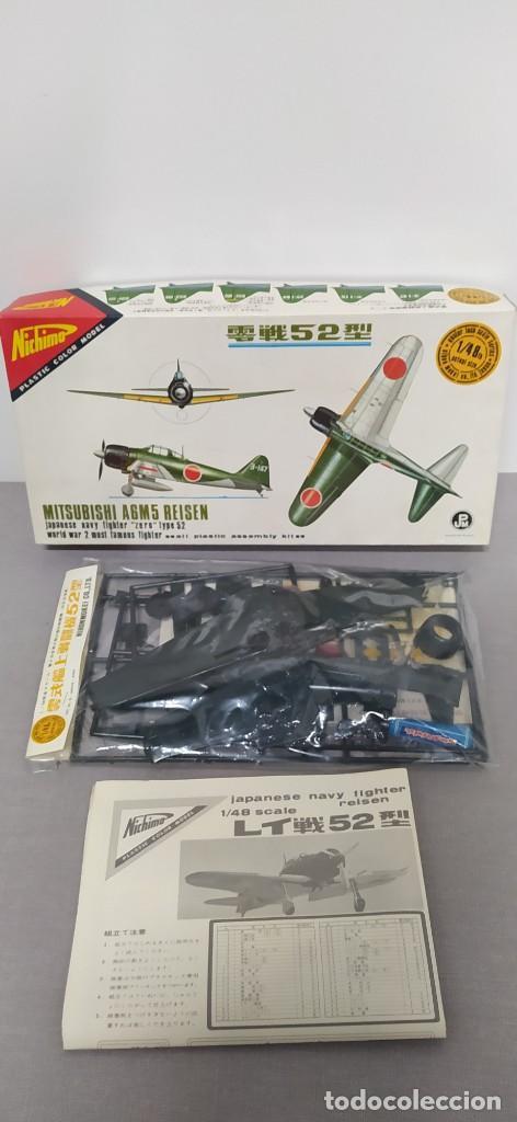 MITSUBISHI A6M5 REISEN 1/48 NICHIMO. NUEVO, BOLSA PRECINTADA (Juguetes - Modelismo y Radio Control - Maquetas - Aviones y Helicópteros)