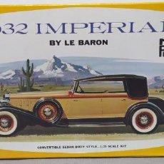 Maquetas: 1932 IMPERIAL BY LE BARON DE MPC ESCALA 1/25. NUEVO. Lote 225137117