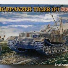 Maquettes: BERGEPANZER TIGER (P) 1/35 DRAGON. Lote 225204661