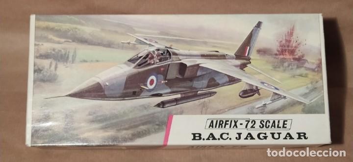 B.A.C. JAGUAR AIRFIX-72 SCALE. NUEVO (Juguetes - Modelismo y Radio Control - Maquetas - Aviones y Helicópteros)