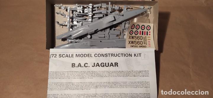 Maquetas: B.A.C. Jaguar airfix-72 scale. Nuevo - Foto 2 - 225210780