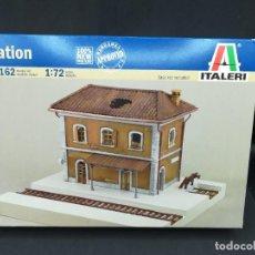 Maquetas: ESTACION DE TREN - ITALERI - 1/72 - REF 6162. Lote 225225551