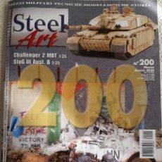Maquetas: STEEL ART REVISTA ITALIANA MODELISMO MILITAR MAQUETA - N 200 - AGOSTO 2020. Lote 225263175