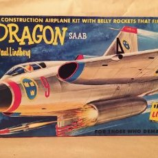 Maquettes: SWEDISH JET DRAGÓN SAAB 1/48 BY PAUL LINDBERG. 1960. NUEVA. Lote 225377445