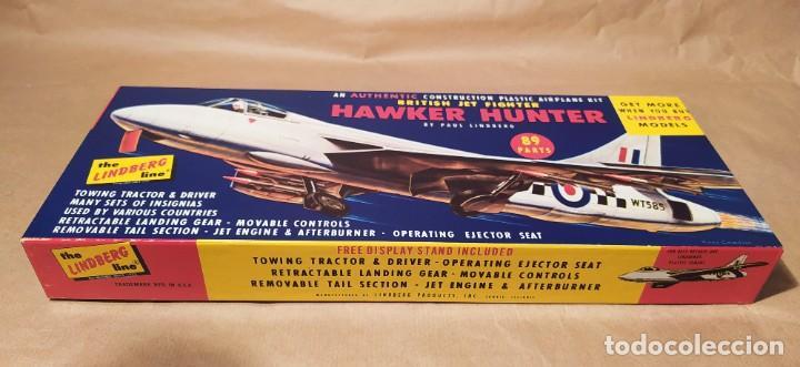 Maquetas: British jet fighter hawker hunter escala 1/48 by Paul Lindberg. 1957. Nueva - Foto 2 - 225383617
