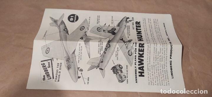 Maquetas: British jet fighter hawker hunter escala 1/48 by Paul Lindberg. 1957. Nueva - Foto 6 - 225383617