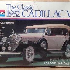 Maquetas: 1932 CADILLAC V16 MUSEUM PIECES MONOGRAM 1/24. NUEVO, CAJA PRECINTADA. Lote 225398665