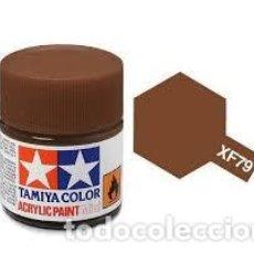 Maquettes: TAMIYA - MADERA OSCURO XF 79. Lote 225415413