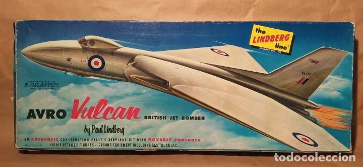 AVRO VULCAN BRITISH JET BOMBER LINDBERG 537-149 ESCALA 1/96. AÑO 1959. NUEVO (Juguetes - Modelismo y Radio Control - Maquetas - Aviones y Helicópteros)