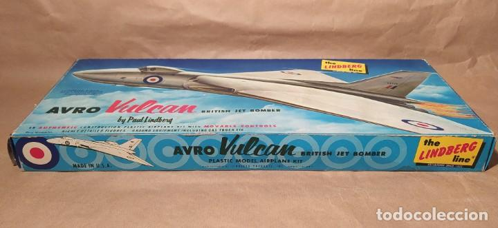 Maquetas: Avro Vulcan British jet bomber Lindberg 537-149 escala 1/96. Año 1959. Nuevo - Foto 2 - 225641440