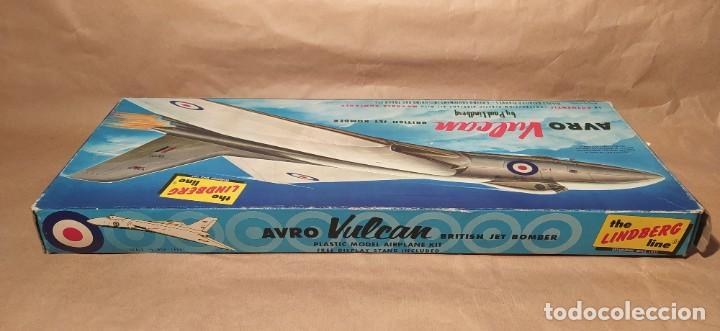 Maquetas: Avro Vulcan British jet bomber Lindberg 537-149 escala 1/96. Año 1959. Nuevo - Foto 3 - 225641440