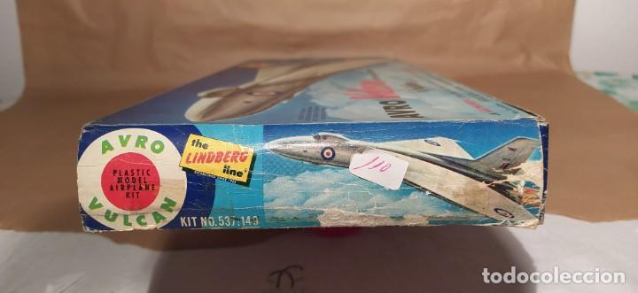 Maquetas: Avro Vulcan British jet bomber Lindberg 537-149 escala 1/96. Año 1959. Nuevo - Foto 4 - 225641440