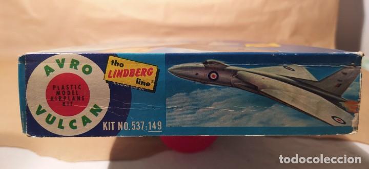 Maquetas: Avro Vulcan British jet bomber Lindberg 537-149 escala 1/96. Año 1959. Nuevo - Foto 5 - 225641440