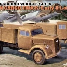 Maquettes: 13404 ACADEMY 1/72 GERMAN CARGO TRUCKS (EARLY & LATE). Lote 225850365
