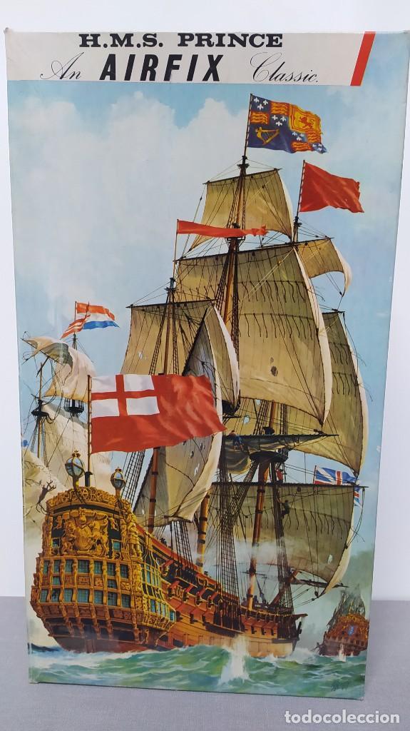 HMS PRINCE AN AIRFIX CLASSIC. NUEVO Y COMPLETO (Juguetes - Modelismo y Radiocontrol - Maquetas - Barcos)