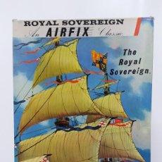 Maquetas: ROYAL SOVEREIGN AN AIRFIX CLASSIC. NUEVO Y COMPLETO. Lote 226796045