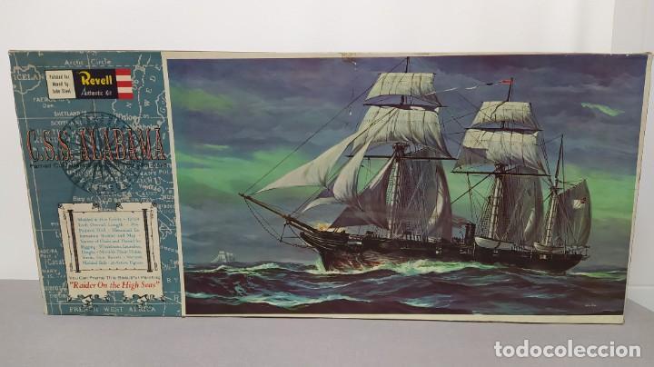 CSS ALABAMA REVELL ESCALA 1/96. BOLSAS PRECINTADA (Juguetes - Modelismo y Radiocontrol - Maquetas - Barcos)