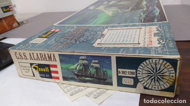 Maquetas: CSS Alabama Revell escala 1/96. Bolsas precintada - Foto 3 - 226807540