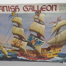 Maquetas: SPANISH GALLEON REVELL ESCALA 1/64. BOLSAS PRECINTADA. Lote 226808635