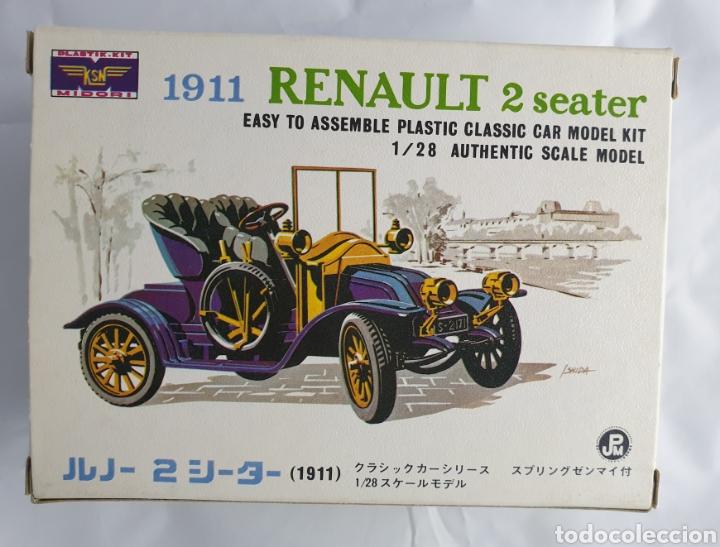 ANTIGUA MAQUETA RENAULT 1911 2 SEATER 1911 (Juguetes - Modelismo y Radiocontrol - Maquetas - Coches y Motos)