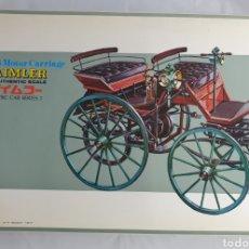 Maquetas: ANTIGUA MAQUETA DAIMLER THE 1886 MOTOR CARRIAGE. Lote 227213250