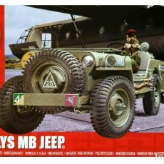 Maquetas: A02339 AIRFIX 1/72 JEEP WILLYS, BRITISH AIRBORNE,. Lote 227225020