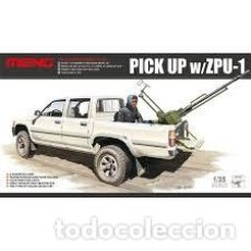 Maquetas: MENG - PICK UP W/ZPU-1 1/35 VS-001. Lote 227281990