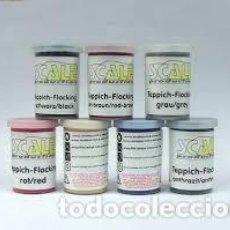 Maquetas: SCALE PRODUCTIONS - FLOCADO ROJO. Lote 255667165