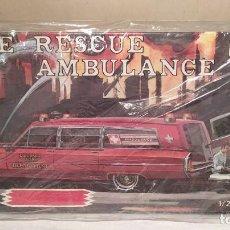 Maquetas: FIRE RESCUE AMBULANCE JO-HAN ESCALA 1/25. NUEVA, BOLSAS PRECINTADAS. Lote 227640040