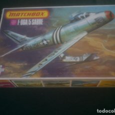 Maquetas: MAQUETA MATCHOBOX F-86A 5SABRE 1/72. Lote 227645925