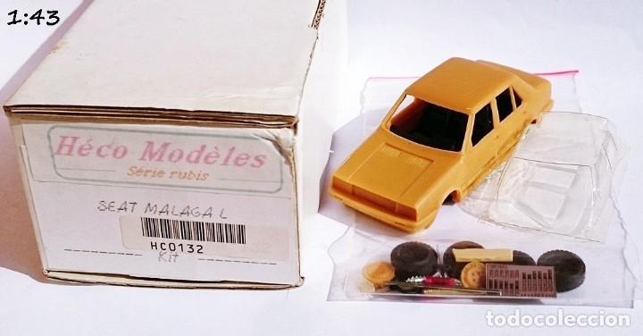 Maquetas: VINTAGE HECO MODELS REF HC 0132 SERIE RUBIS KIT SEAT MALAGA L - Foto 2 - 227757725