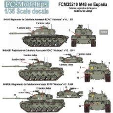 Maquettes: CALCAS M48 EN ESPAÑA FC-MODELTIPS FCM35210 1:35. Lote 228370040