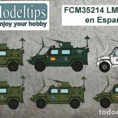 Maquettes: CALCAS LMV LINCE EN ESPAÑA FC-MODELTIPS FCM35214 1:35. Lote 228370200