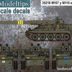 Maquettes: CALCAS M107 Y M110 EN ESPAÑA FC-MODELTIPS FCM35218 1:35. Lote 228370570