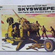 Maquetas: 75 MM ANTI-AIRCRAFT GUN SKYSWEEPER RENWAL. NUEVO, CAJA PRECINTADA. Lote 228563275